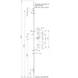 CREM SERIE 6.35 - LARD-2 GALETS-A35-D980-L2200mm