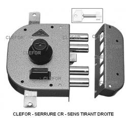 Serrure CR clés à pompe A2P*