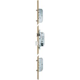 SERRURE A LARDER A PENES ROND  - 5 POINTS - AXE 50mm