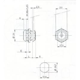 SER.BATT-L18mm-ECROU-2C