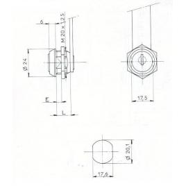 SER.BATT. L16,2mm-2C