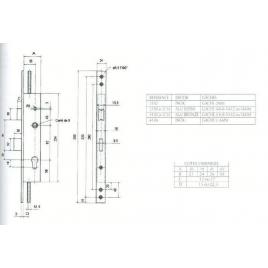 S.LARD.METAL.3PTS/BASC.U7/A21