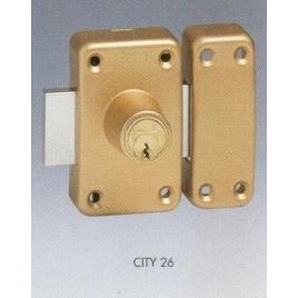 VERROU CITY 26 - 2E -CYL.50_3C