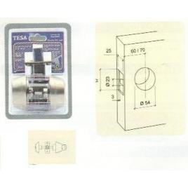VERROU TUBULAIRE-BT+CYL-ARG-3C