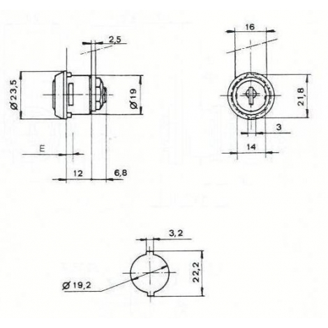 S.BATTEUSE 165CHE L18.8/D19.2