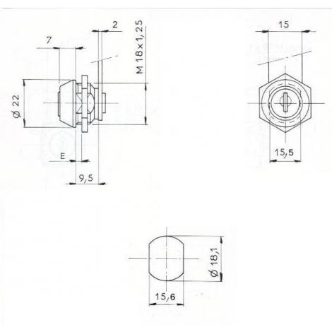 S.BATTEUSE ECROU L14.5/D18-2C