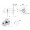 POUSSOIR ROND L30/D23mm-2C
