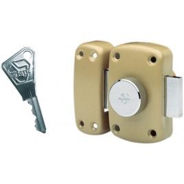 Verrou Vachette Cyclop à bouton - 3 clés V5