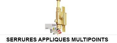Serrures appliques multipoints - 13 serrures multipoints surete securite a2p vachette rouen le havr