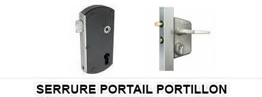 Serrure Portail Portillon